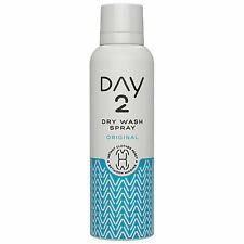 3x Day 2 Dry Wash Clothes Spray Revives & Freshens Original 200ml UK