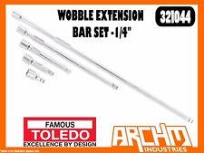"TOLEDO 321044 - WOBBLE EXTENSION BAR SET -1/4"" - 50 / 75 / 150 / 250 / 450MM"