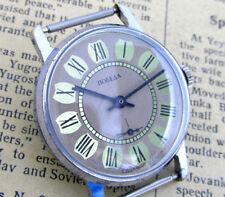 POBEDA CARAMELLO LEMON GOLD Vintage Soviet Russian Mens Mechanical Wrist Watch