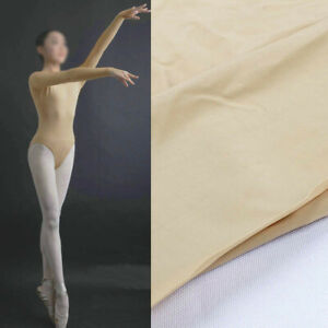 """18% Spandex Nude High Stretch Fabric Elastic for Making Dresses 60"""" Wide BY YARD"""