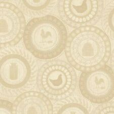 Farm To Table By Windham Fabrics  -  Cream Farm Patches