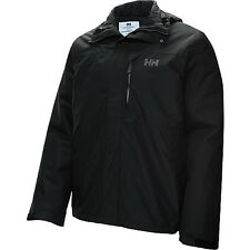 helly hansen mens squamish cis jacket waterproof swap out liner black xl NEW