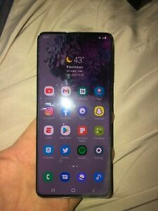 Samsung S20 Plus Cell Phone Black Factory Unlocked