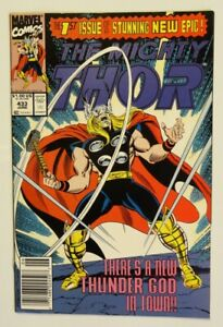 Thor #433 (9.2NM-/1st APP Eric Masterson as Lead Character In Title! Wow!)
