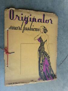 1947 Originator Smart Womens Fashions Trends Florence Hort Drawing Portfolio @@
