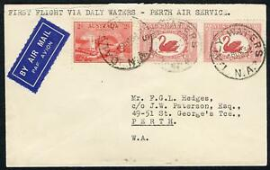9 Oct.1934 (AAMC.429) Daly Waters - Perth cover, MacRobertson-Miller Aviation Co