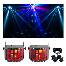 Chauvet Kinta FX 3-in-1 LED Multi-effects Fixture 2-Pack w/O-Clamp CLP-10 New