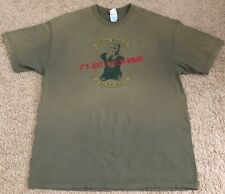 Monty Python The Holy Grail It's Just a Flesh Wound Brown Graphic Shirt Size Xl