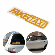 Cool Auto Car Sticker JDM Drift Turbo Hoon Race Reflective FAKE TAXI Funny Decal