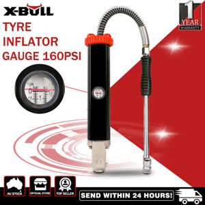 X-BULL Tyre Inflator Gauge/Inflator Gun 160PSI High Flow Heavy Auto Car Tire