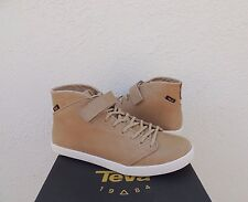 TEVA WILLOW CHUKKA TAN LEATHER SNEAKER ANKLE BOOTS, WOMEN US 8/ EUR 39 ~NIB