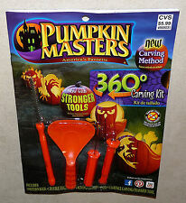 PUMPKIN MASTERS carving kit - 360 degree designs 2014 edition NEW unused package