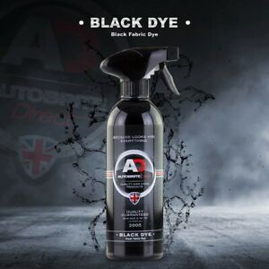 Autobrite Direct - Automotive Black Dye Spray for Carpet & Trim etc 500ml