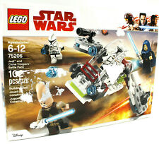 Lego Star Wars Jedi & Clone Troopers Battle Pack #75206, Retired Set
