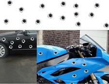 Einschusslöcher 20 mm Bullet Holes Decals Aufkleber  Öl - kratzfest - Sticker