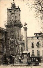 CPA AIX-en-PROVENCE - La Tour de l'Horloge (213951)