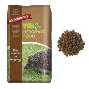 Mr Johnsons Wildlife Wild HEDGEHOG FOOD Dry Nutritious Poultry Diet Kibble 750gm