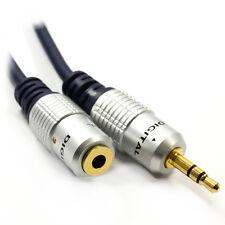 1m De Sdc Pro 3.5 mm Jack a jack de extensión Stereo Macho / Mujer De Audio Aux Cable