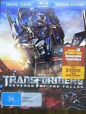 Transformers - Revenge Of The Fallen (Blu-ray, 2009) M Rated