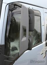 To Fit Volvo FH4 13+ Tinted Smoke Tinted Window Wind Rain Deflectors - Adhesive