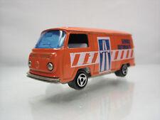 Diecast Majorette Volkswagen Fourgon Service Autoroute No.244 Orange Very Good