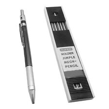 NEW PENTEL AUTOMATIC PENCIL 2.0MM MECHANICAL PENCIL DRAW DRAFTING WRITTING+LEADS