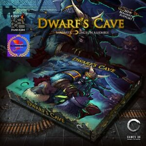 Easy Dungeon Dwarfs Cave Set Sotterraneo Magnetico Architettura Gioco Ruolo GDR