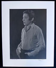 Photo Robert Kayart - Serge Gainsbourg - Tirage d'exposition 40 x 50 -