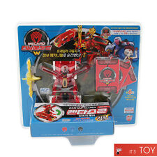 Turning Mecard W KENTAR SCORN Red ver Jumbo Mecarnimal Transformer Robot Car Toy