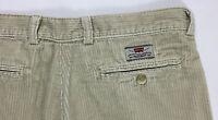 Levis W34 tg 48 vintage pantalone velluto classic jeans uomo usato gamba dritta