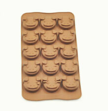 Brown Silicone Pig Shaped Mould Tray Ice Soap Chocolate Cake Piggy Animal Pan