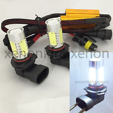 9005-HB3 CREE Q5 LED Projector Plasma Xenon 6000K White 2x Bulbs #m6 High Beam