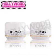2x Bluesky Gel Polish UV LED Nail Art CLEAR Builder Gel 15ml
