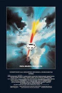 "Superman 1978 - Movie Poster (Regular Style) (Size 24"" X 36"")"
