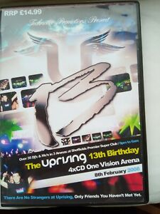 UPRISING- 08.02.08- 13th BIRTHDAY PARTY -ONE VISION ARENA 4 CD PACK