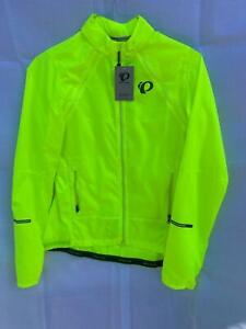 NEW Pearl Izumi Women's ELITE Escape Barrier Convertible JACKET MD or XXL Yellow