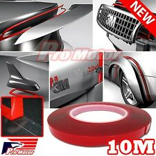 2 x 10M Double Sided Adhesive Foam Sticky Tape Clear Transparent Car Truck Auto
