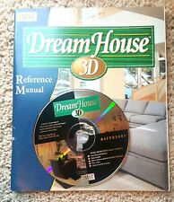 IMSI DeamHouse 3D CD for PC Windows and Reference Manual