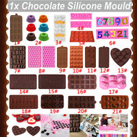 Silicone Cake Decor Fondant Chocolate Mould Soap Candy Cookie Mold Baking Tool