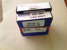 New Nachi Front Wheel Bearings (2) 96053681 Chevrolet Sprint Geo Metro 1989-1994