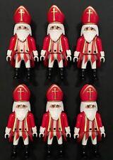 Playmobil St Nicholas Santa Exclusive Bishop 4893 Cardinal Soldiers Bid X6 Toys