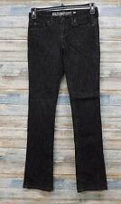 Guess Jeans 26 x 33 Women's Starlet Slim Boot cut Stretch Black    (P-64)