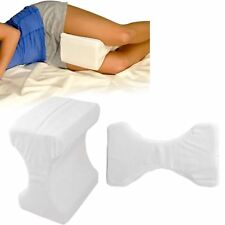 Contour Memory Foam Leg Pillow Orthopaedic Firm Back Hips and Knee Support