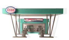 Unique Big Gas Station Diorama Kit, with many elements, Scale 1:43 Unpainted NEW
