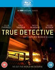 TRUE DETECTIVE Complete Second Season Blue-Ray Disc (NEW)