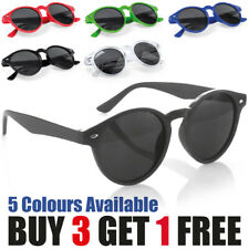 Round Lens Sunglasses Circle Glasses Oval Womens Classic Ladies Mens Vintage