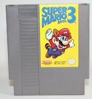 Super Mario Bros 3 NES Nintendo Authentic & Tested! Very Good Condition! NICE!