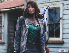 LUCY LAWLESS SIGNED ASH VS. EVIL DEAD XENA SIGNED 8X10 PHOTO  PSA/DNA