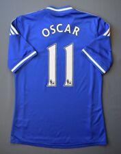 4.9/5 CHELSEA #11 OSCAR 2013-2014 FOOTBALL HOME SHIRT JERSEY ADIDAS SIZE S