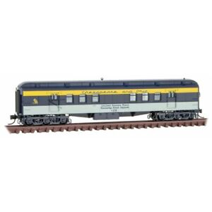 N Scale  MICRO-TRAINS 140 00 410 CHESAPEAKE & OHIO RPO Heavyweight Passenger Car